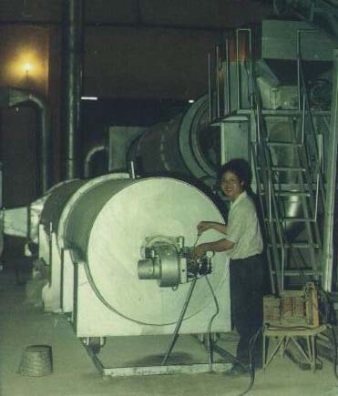 The fish powder rotary dryer and author